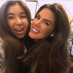 Con la figlia. (Foto Instagram)