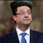 Su Twitter fioccano i fotomontaggi di Hollande coi capelli dritti: con quelllo che guadagna il suo parrucchiere... (Foto Twitter)