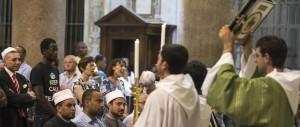 Da Rouen a Roma, i musulmani in preghiera con i cattolici nelle chiese