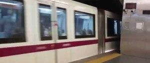 Travolto dalla metro a Roma: estratto vivo dai pompieri