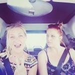 Verso il mare con una amica! (Foto Instagram)