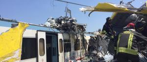 Scontro treni in Puglia: la Procura indaga per omicidio colposo plurimo