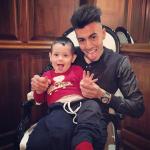 Il calciatore italiano di origini egiziane ha 23 anni. (Foto Instagram)