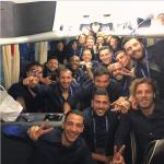 La Nazionale italiana agli Europei. (Foto Instagram)