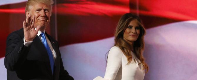 Trump: vi presento la prossima first lady, mia moglie Melania. E giù critiche