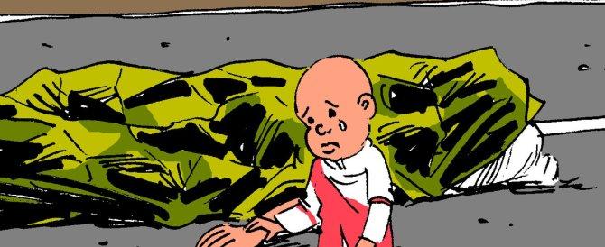 Il tributo dei vignettisti: lacrime, angeli e una bambola per le vittime di Nizza