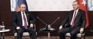 """La """"strana coppia"""" Erdogan-Putin mette i brividi a Barack Obama"""