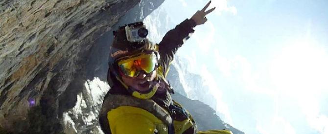 Morto Alexander Polli: si è schiantato durante uno dei suoi voli spettacolari