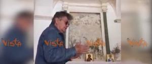 Bobby Solo canta il gospel nella Chiesa di Locorotondo (video)