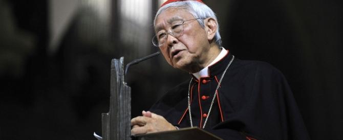 """Dal cardinale Zen critica choc a Bergoglio: """"Fedeli al Papa nonostante il Papa"""""""