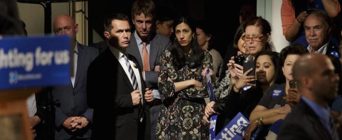 """Foto osè e scandalo sexy, sulla Clinton una """"bomba"""" di nome Huma Abedin"""