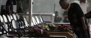 Le immagini dell'addio alle vittime del sisma 4