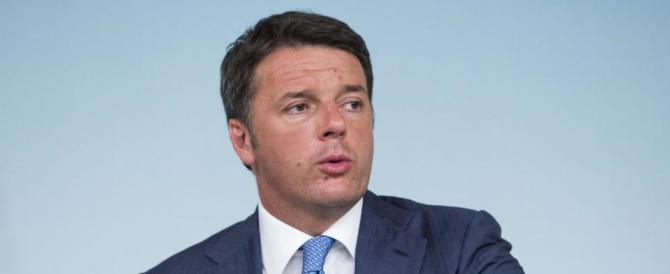 """Renzi promette: """"Faremo una ricostruzione vera, non come in Abruzzo"""""""