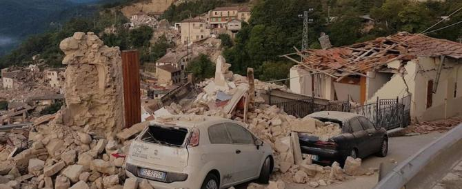 Pescara del Tronto rasa al suolo: il racconto di quei momenti terribili