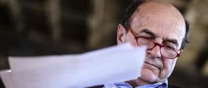 Bersani fa il funerale al Pd renziano: «È finito, i voti non ci sono più»