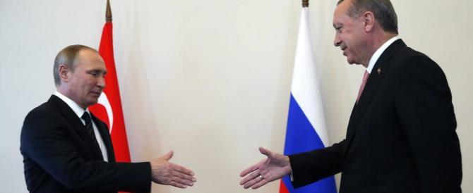 Putin sigla la pace con Erdogan. Mentre Usa ed Ue stanno a guardare
