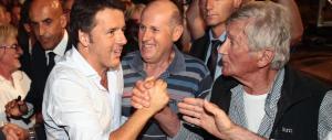 Renzi balla anche sulle pensioni, poi fa uno scivolone sui numeri
