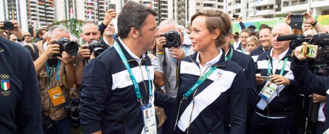 Olimpiadi, gli abbracci di Matteo Renzi hanno portato una sfiga pazzesca