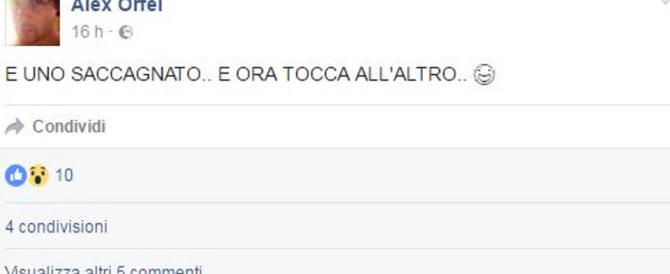 """Non confessa Alex Orfei, il circense che ha """"rivendicato"""" il delitto su Fb"""