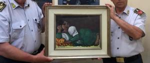 Recuperato un dipinto di Cantatore: una vicenda alla Arsenio Lupin