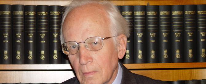 È morto Ernst Nolte, ebbe l'ardire di paragonare i gulag ai lager nazisti