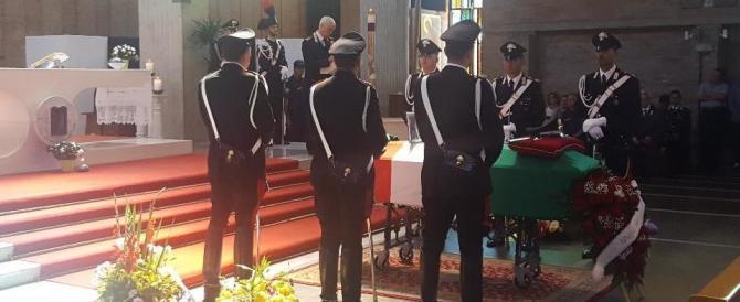 A Roma l'addio a Giampaolo Pace, il maresciallo morto ad Accumoli