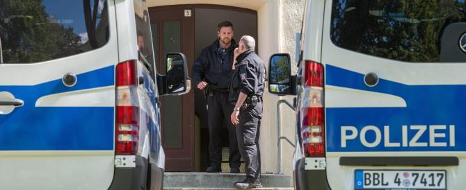 Preso terrorista islamico in Germania: doveva farsi esplodere a una sagra