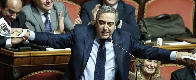 Consiglio Ue, Gasparri contro Gentiloni: «Insufficienti le proposte del governo»