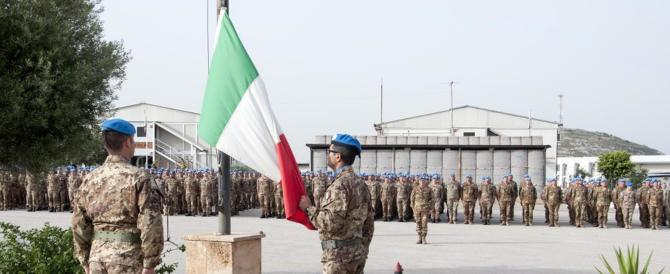 Libano, così i soldati italiani addestrano la polizia (foto gallery)