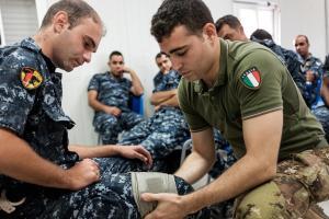Libano: caschi blu italiani addestrano unità di polizia locali