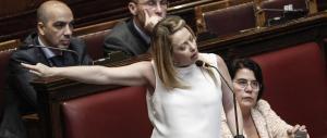 Meloni: «Nella riforma di Renzi c'è una norma ad hoc per Napolitano»