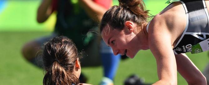 Nikki Hamblin e Abbey D'Agostino, il più bel gesto delle Olimpiadi (video)