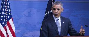 """Obama alle corde tenta di rialzare la testa: """"Non daremo tregua all'Isis"""""""