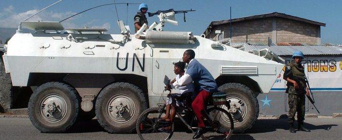 Haiti, finalmente l'Onu ammette: furono i caschi blu a portare il colera
