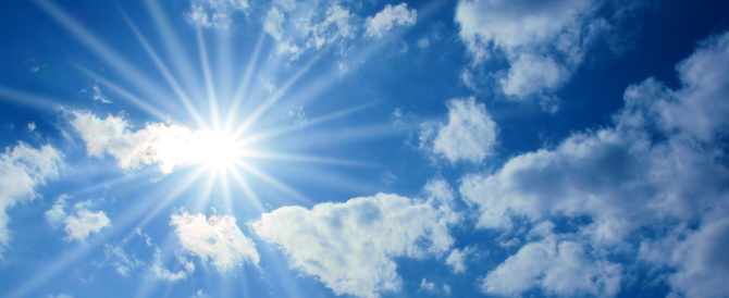 Previsioni del tempo: prima piogge e schiarite, poi il ritorno del sole