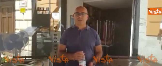 Rifiuti, ristoratore multato chiede scusa e diventa testimonial (video)