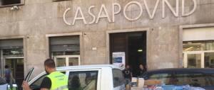 In azione i volontari della Salamandra, l'associazione di Casapound (2 video)