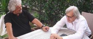 Sgarbi: «Sto trattando con Grillo per fondare i 7 Stelle». Ma è una bufala