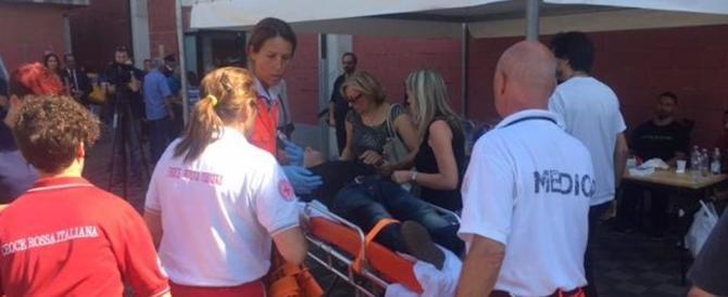 Recuperato il corpo di una donna finita sotto le macerie dell'Hotel Roma