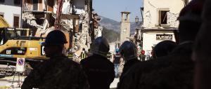 """Nuova forte scossa nelle Marche. Altri crolli nella scuola """"antisismica"""" di Amatrice"""