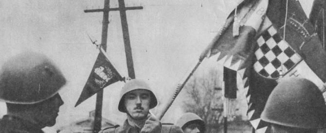 Scintille Serbia-Croazia per il 21° della presa di Knin. Inni e canti ustascia