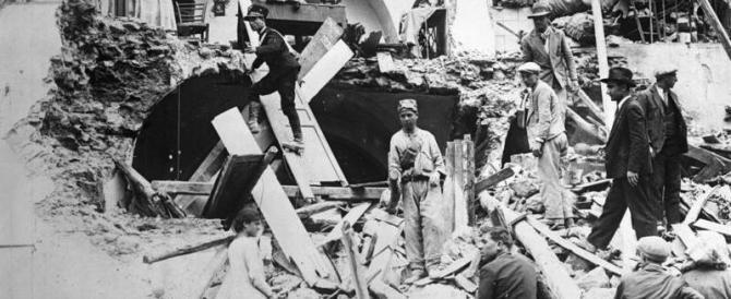 1930: in soli tre mesi il fascismo ricostruì il Vulture terremotato