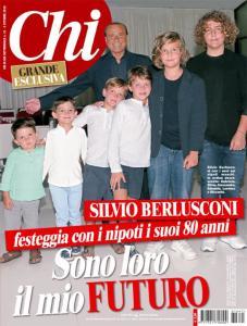 Chi pubblica intervista esclusiva a Silvio Berlusconi