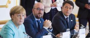 """Ue, il vertice di Bratislava è stato un flop. E Renzi la butta in """"caciara"""""""