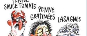 """Squallida satira sui morti di Amatrice, ecco la """"civiltà"""" di Charlie Hebdo"""