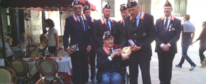 Festa a Venezia per i 97 anni di Giulio Biasin. L'ultimo dei Corazzieri del Re