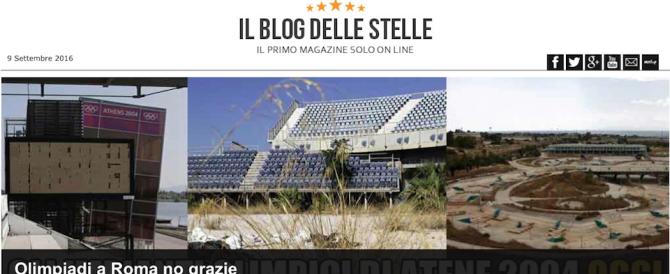 """Grillo annuncia: """"No alle Olimpiadi"""". Le sorti di Roma si decidono su un blog"""