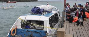 Indonesia, esplosione a bordo di un ferry boat: feriti anche italiani?