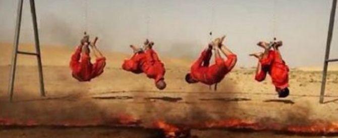 Un altro video dell'Isis: prigionieri appesi e sgozzati come pecore
