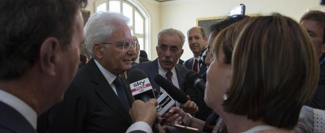 """Mattarella alza la voce con gli Usa, ma il vero """"golpe"""" viene dai poteri forti"""